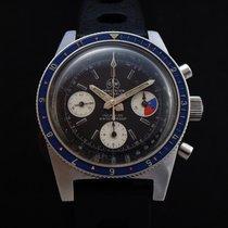 Ollech & Wajs Rare Vintage Valjoux 72 Chronograph 60's