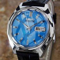 Seiko 5 Actus Mens Rare Automatic 21 Jewels Stainless Japanese...