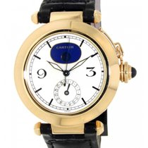 Cartier Pasha Moonphase 30001 In 18kt Yellow Gold, 38mm