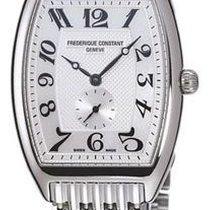 Frederique Constant Art Deco White Dial Mens Watch FC-235APW1T26B