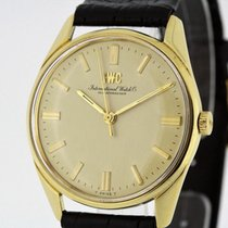 IWC Vintage Men's Watch solid 18K Yellow Gold 1968 R810...