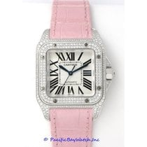 Cartier Santos 100 WM501751 Mid-Size Pre-Owned