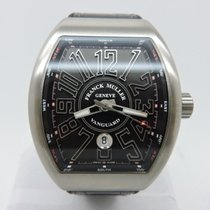 Franck Muller Vanguard Titanium Swiss Watch V 45 SC DT BR NR