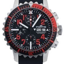 Fortis B-42 Marinemaster Day/Date Automatic Chrono Steel Mens...