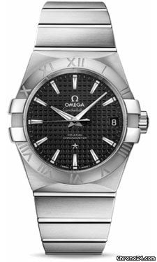 Omega Constellation Chronometer 38 mm Brushed Stainless Steel