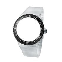 Fortis Color C40 Silikonarmband Transparent