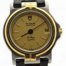 Tudor Le Royer Two Tone Vintage Ladies Quartz Watch With Date...