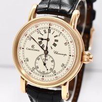 Chronoswiss Chronoscope Gold Uhr CH1521R Papiere Box 2004