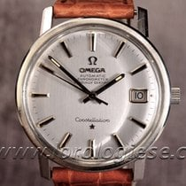 Omega Constellation Officially Certified Chronometer Steel...