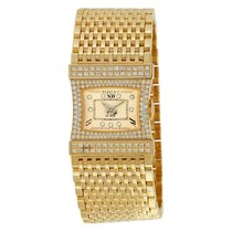 Bedat & Co No. 33 Reverso 18K Yellow Gold Diamond Ladies...
