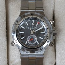 Bulgari Diagono Professional GMT 42mm / New with warranty