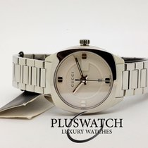 Gucci Quartz GG2570 Small White Dial Stainless Steel 29mm R