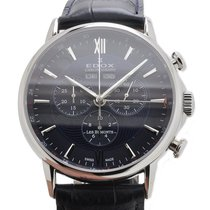 Edox Les Bémonts Chronograph Complication Watch 10501 3 BUIN