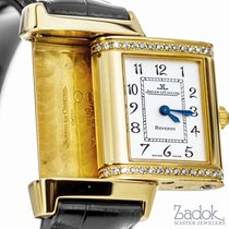 Jaeger-LeCoultre Reverso Florale 18K Yellow Gold 64 Diamonds...