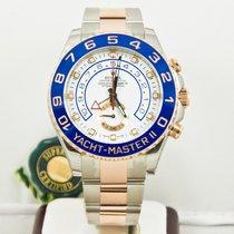 Rolex Yachmaster II 116681 Watch Ceramic Bezel White Face