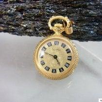 ZentRa Container Kleine Damen Taschenuhr Vergoldet   334