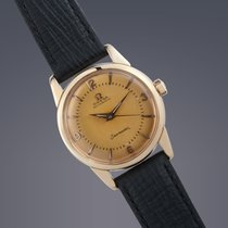 Omega Seamaster 18ct gold automatic watch 60th Birthday