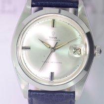 Tudor Oysterdate Seel vintage rar Silver Rose Dresswatch...