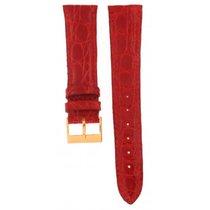 Principe Genuine Red Crocodile Strap 20mm