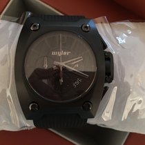 "Wyler chronographe code R all black ""Singapur"""