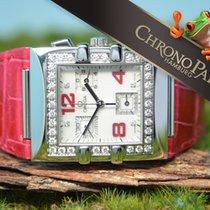 Omega Constellation Quadra Diamanten Damen Chronograph,...