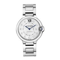 Cartier Ballon Bleu Automatic Mens Watch Ref WE902075