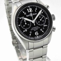 Bell & Ross BR 126 Vintage Anti-Magnetic Chronograph Box...