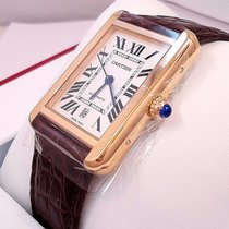Cartier Tank Solo Xl W5200026 Automatic 18k Rose Gold B&p...