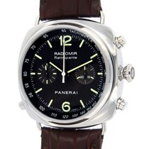 Panerai Radiomir Rattrapante Pam00214 Steel, Leather, 45mm