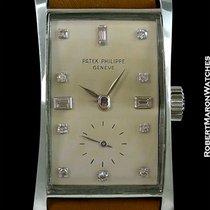 Patek Philippe 1593 Platinum Hour Glass Unpolished 1940s