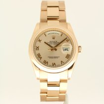 Rolex Day-Date  from 2006 complete with box and papers