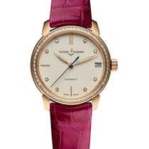 Ulysse Nardin Classico 18K Rose Gold & Diamonds Ladies Watch