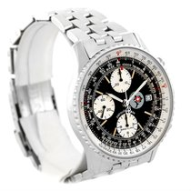 Breitling Navitimer Ii Automatic Steel Black Dial Mens Watch...