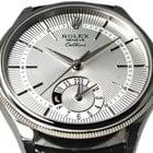 Rolex [NEW] Silver WG Cellini Dual Time (List Price:HK$151,000)