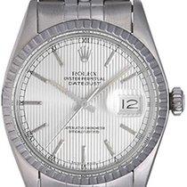 Rolex Datejust Men's Steel Watch Tapestry Dial 16030
