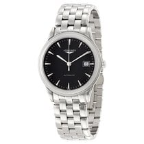 Longines Flagship Automatic Black Dial Stainless Steel Watch