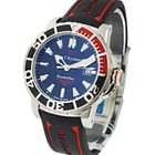 Carl F. Bucherer Carl F.  ScubaTech in Steel with Red and...