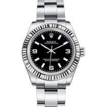 Rolex Oyster Perpetual 31 Ladies Midsize 177234-BLKSAO 31mm...