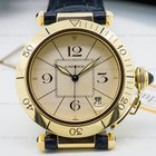 Cartier Pasha 38MM Automatic 18K Yellow Gold