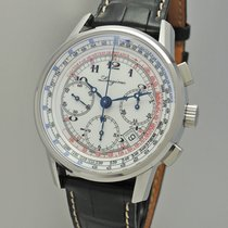 Longines Tachymeter Chronograph L2.781.4 -like new Box and papers