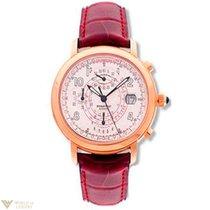 Audemars Piguet Millenary Chronograph 18k Rose Gold Leather...
