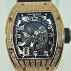 Richard Mille RM010, RM10 Rose Gold Partial Diamond Case