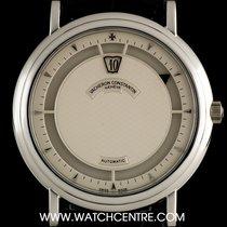 Vacheron Constantin Rare Platinum Silver Dial Saltarello Jump...