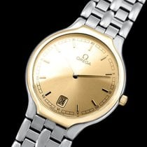 "Omega De Ville ""Symbol"" Mens Quartz Dress Watch - SS..."