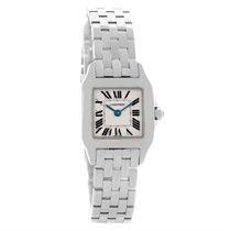 Cartier Santos Demoiselle Steel Silver Dial Small Watch W25064z5
