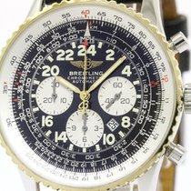 Breitling Polished Breitling Navitimer Cosmonaute 18k Gold...