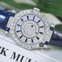 Franck Muller Double Mystery Ronde 18K White Gold Ladies