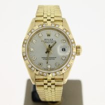 Rolex Datejust Presidental Crown Collection 18K FactoryDiamond...