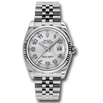 Rolex Datejust 36mm - Steel Fluted Bezel - Jubilee Bracelet