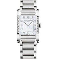 Baume & Mercier Hampton Classic Partial Diamond Bezel
